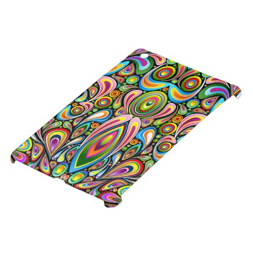 Mini caso de los colores del arte del iPad psicodé iPad Mini Cárcasas