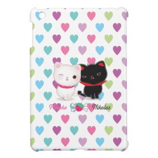 Mini caso de los corazones del iPad cariñoso de lo