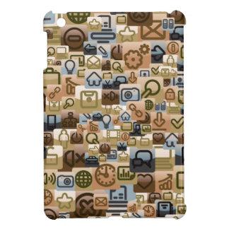 Mini caso de los medios del iPad social de la inte