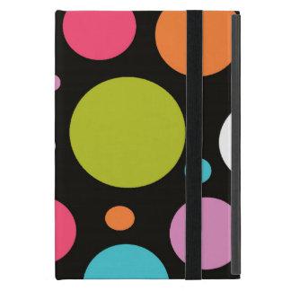 Mini caso de los powis de lunar del iPad negro del iPad Mini Coberturas