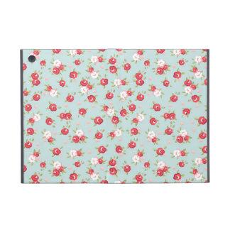 Mini caso de los rosas del iPad floral elegante la iPad Mini Funda