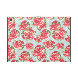 Mini caso de los rosas del iPad floral elegante la iPad Mini Protectores