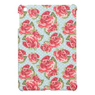 Mini caso de los rosas del iPad floral elegante la iPad Mini Carcasas