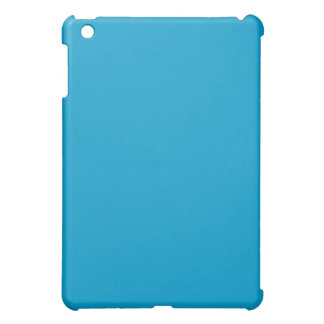 Mini caso de océano del iPad llano del azul