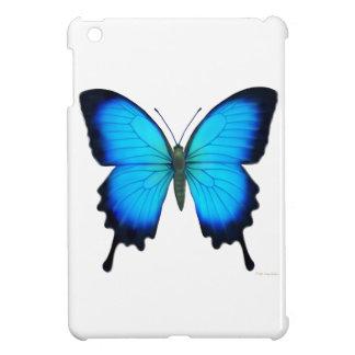Mini caso de Papilio Ulises del iPad azul de la ma