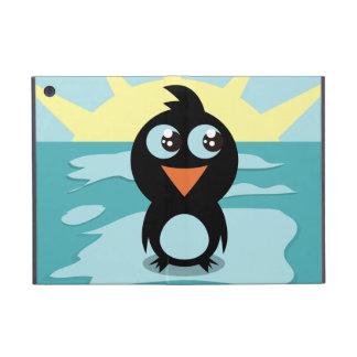 Mini caso de Powis del iPad lindo del pingüino iPad Mini Carcasa