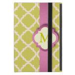 Mini caso de Powis del iPad rosado y amarillo de Q iPad Mini Protector