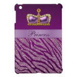 Mini caso de princesa Crown del iPad púrpura del e iPad Mini Coberturas