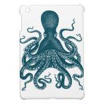 Mini caso de Steampunk Kraken del ipad azul del pu iPad Mini Coberturas