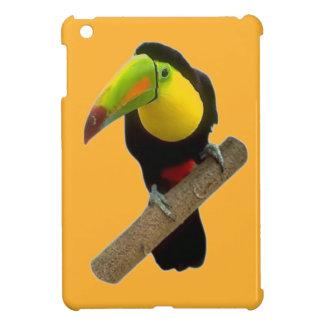 Mini caso de Toucan del ipad brillante del pájaro iPad Mini Coberturas