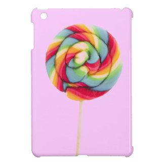 MINI caso del arco iris del caramelo del iPad rosa iPad Mini Protectores