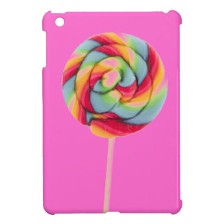 MINI caso del arco iris del caramelo del iPad rosa iPad Mini Cárcasas