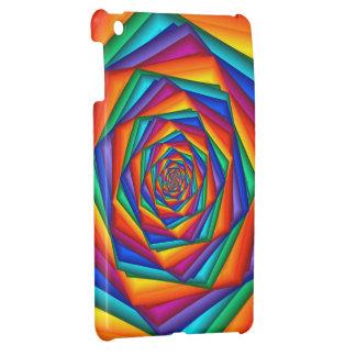Mini caso del arco iris del iPad brillante