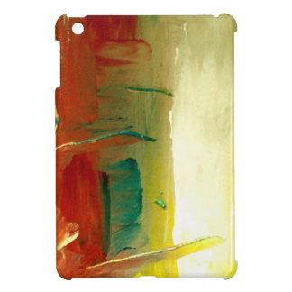 Mini caso del arte abstracto del iPad duro moderno