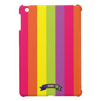 Mini caso del color de la raya del iPad brillante  iPad Mini Carcasas