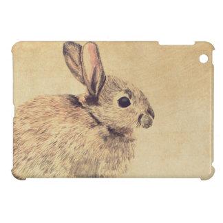 Mini caso del conejo del Watercolour del iPad comú iPad Mini Protector