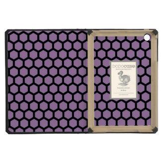 Mini caso del DODO del iPad púrpura del relevo