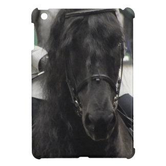 Mini caso del Dressage del iPad negro del caballo