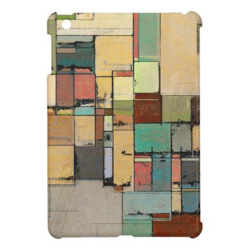 Mini caso del enrejado del iPad colorido del extra