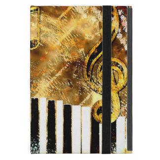 mini caso del grunge del iPad musical del iCase iPad Mini Coberturas