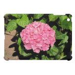 Mini caso del Hydrangea del ipad rosado del flor iPad Mini Protectores