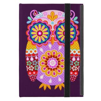 Mini caso del iPad abstracto maravilloso del búho iPad Mini Protectores