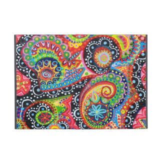 Mini caso del iPad abstracto tribal colorido con e iPad Mini Fundas