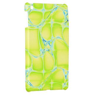 Mini caso del iPad amarillo fresco