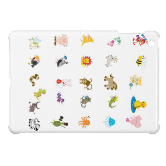 Mini caso del iPad animal del alfabeto iPad Mini Coberturas
