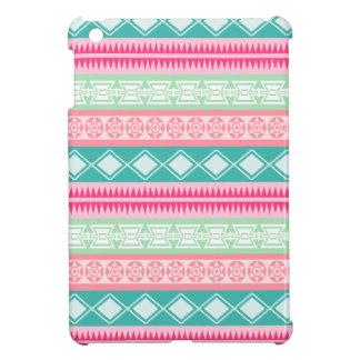 Mini caso del iPad azteca bonito vibrante del