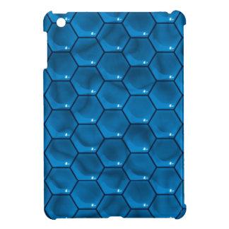 Mini caso del iPad azul del cubo