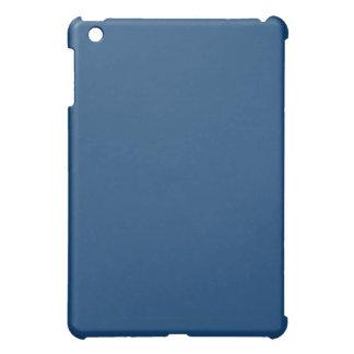 Mini caso del iPad azul llano