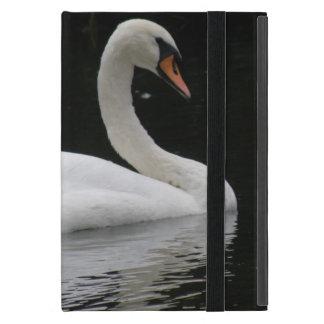 Mini caso del iPad blanco agraciado del cisne iPad Mini Protector
