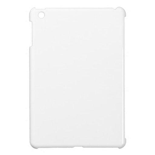 Mini caso del iPad blanco sólido iPad Mini Fundas