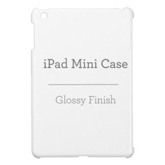 Mini caso del iPad brillante de encargo