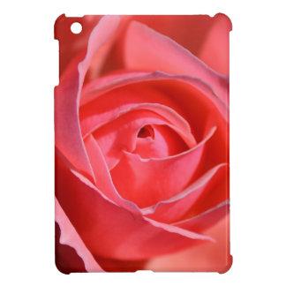 Mini caso del iPad color de rosa rosado brillante