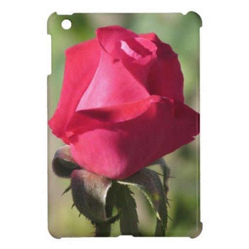 Mini caso del iPad color de rosa rosado iPad Mini Protectores