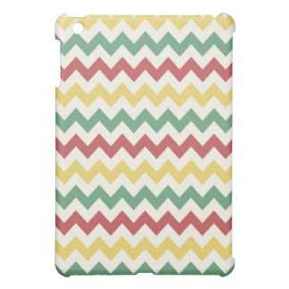 Mini caso del iPad colorido de Chevron