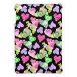 Mini caso del iPad colorido de los corazones iPad Mini Protectores
