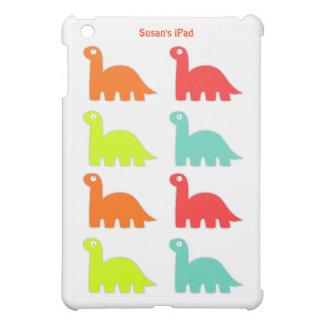 Mini caso del iPad colorido del dinosaurio iPad Mini Funda