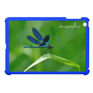 mini caso del iPad con la libélula