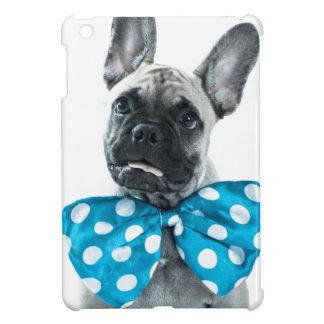 mini caso del iPad con un dogo francés