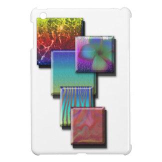 Mini caso del ipad de los cuadrados que cae