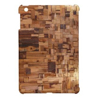 Mini caso del iPad de madera decorativo moderno de