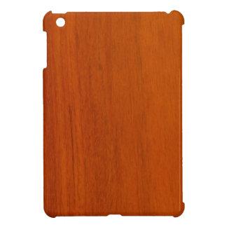 Mini caso del iPad de madera del modelo