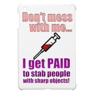 Mini caso del iPad divertido de la enfermera iPad Mini Cobertura