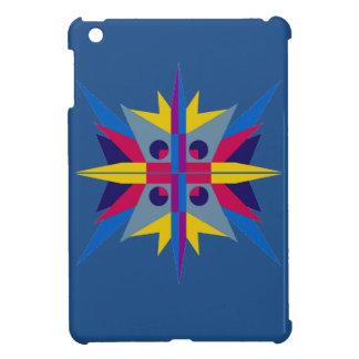 Mini caso del iPad duro de Shell con la estrella