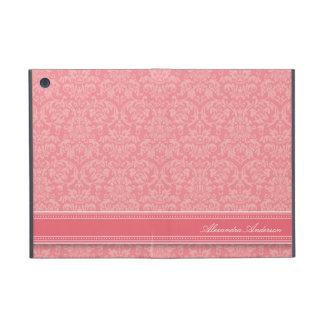 Mini caso del iPad elegante del damasco (rosa) iPad Mini Cobertura