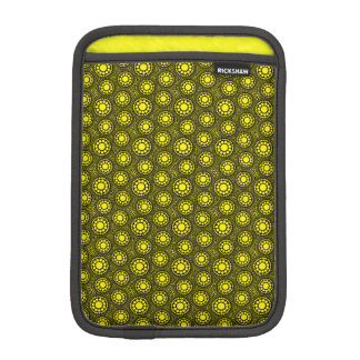 mini caso del ipad en modelo geométrico amarillo funda de iPad mini