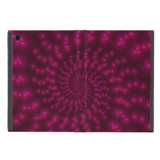 Mini caso del iPad espiral rosado magenta del iPad Mini Carcasa